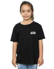 Star Wars Bambine e ragazze Logo Badge Maglietta