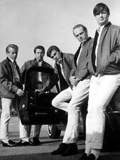 The Beach Boys Amazing BW Retro Rare Car Rock Band Giant Wall Print POSTER