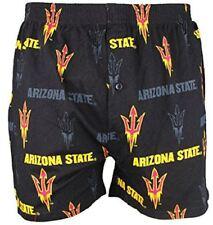 Arizona State Sundevils Mens Black Insider Boxer Shorts by Concepts Sports