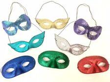 Baile De Máscaras Mascarada Antifaz Adulto Superhéroe Purpurina Disfraz COLOR