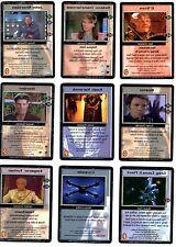 Babylon 5 CCG PREMIERE Raro tarjetas precedencia 1/4