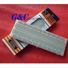 1/2/5/10 MB102 Breadboard 830 Point Solderless PCB Bread Board Test Develop DIY