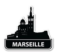 Marseille Car Laptop Phone Vinyl Sticker  - SELECT SIZE