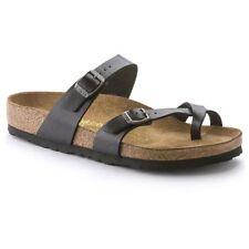 Birkenstock Sandale Mayari Graceful Licorice in 38,39,40,41,42,43 Fußbett normal