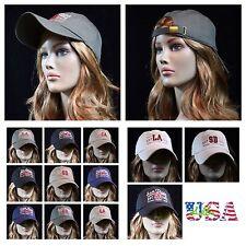 Men's Baseball Cap Plain Washed Polo Style Fashion Casual Hip Pop Hat Unisex
