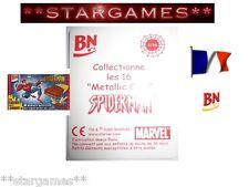 CARTE MARVEL CARDS FRENCH LU FRANCAIS RARE CHROMIUM 3-D SPIDER-MAN AU CHOIX