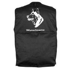 MIL-TEC Hundesport Outdoor Weste Husky 3 inkl. Wunschname