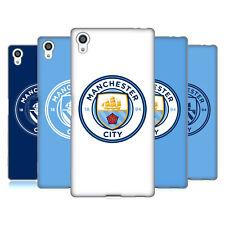 Officiel Manchester City Homme Ville Fc Badge GEL souple Coque Pour Sony Téléphones 2