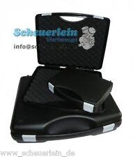 Universal Kunststoff Koffer SCHWARZ + Schaumstoff 3 Größen DE-Qualität /Werkzeug