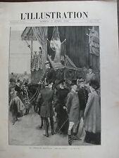 L'ILLUSTRATION 1902 N 3084 AU CONCOURS HIPPIQUE