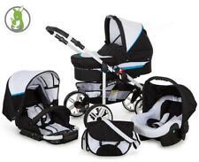 Lux 4 Kids Poussette Set 3in1 Buggy baignoire bébé siège de voiture tout dans une matrice Go