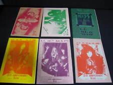 KISS L.F. Vol. 73 - 78 1993 Japan Fanzine Book Lot LF