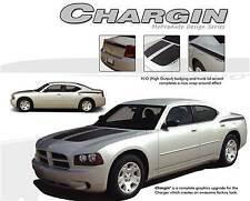 CHARGIN 2006-2010 Dodge Charger Daytona Vinyl Stripes Graphics 3M Pro Kits