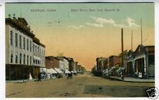 1910 Postcard Main Street East from 7th Keokuk Iowa