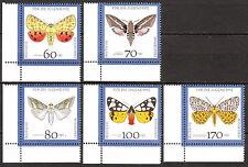 BRD 1992 Mi. Nr. 1602-1606 Eckrand 3 Postfrisch LUXUS! (4710)
