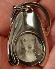 Teckel EKW Schlüsselanhänger Einkaufswagenchip Chip Trolley coin Dackel Dog Clip