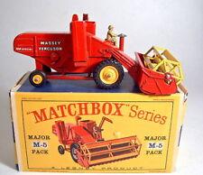 MATCHBOX Major PACK m5a Massey Ferguson Harvester CERCHI GIALLO