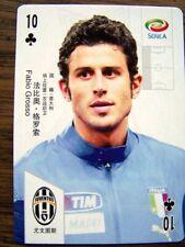2011 Chinese Playing card Soccer Calcio Italiana LFP FUTBOL PREMIER League PICK