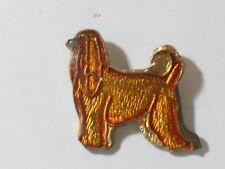 Afghan Pin Badge Vintage Dog Pin
