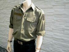 Bundeswehr Feldhemd  BW Freizeithemd,Arbeitshemd, Uniformhemd Oliv Bundesheer