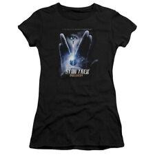 STAR TREK DISCOVERY BEGINS Lic. Women & Junior Tee Shirt and V-Neck SM-2XL