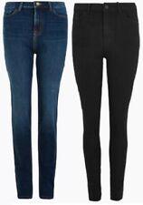 M/&S Sculpt /& Lift Jeans Straight Leg Jeans Ladies Denim Blue Sizes 6-20 S Reg L