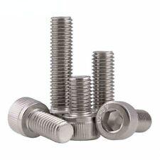 A2(304) Stainless Steel DIN912 Allen Bolt Socket Cap Screws Hex Head M1.4 M1.6