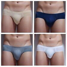 4er Hipster Unterhose Herren Brief Unterwäsche Seamless Underwear Short L XL 3XL