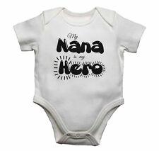 Mi nana es mi héroe-Bebé Chalecos monos bebé crece Estampado Gráfico