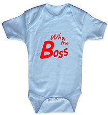 Baby Body haute qualité justaucorps de qualité 0-24 Mois Who the Boss 12472