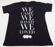 NEW Mens Black Swedish House Mafia We Came We Raved We Loved T-Shirt Size L XL