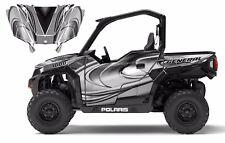Polaris General 1000 Graphics Wrap Kit Free Custom Service Design #3715 Metallic