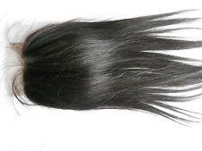 4x4 Unprocessed Brazilian Virgin Hair Lace Closure Straight Closure Top Piece