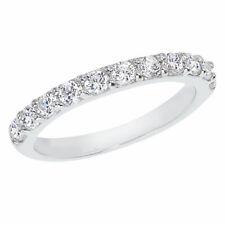 14K White Gold .77 ct Diamond Band Ring