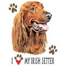 Irish Setter Love T Shirt Pick Your Size Youth Medium to 6 X Large