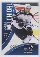 2012 Choice St John's IceCaps #44 Julian Melchiori St. (AHL) Rookie Hockey Card