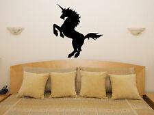 magique mystique Licorne Chambre à coucher pour enfants autocollant Art mur