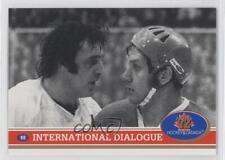 1991-92 Future Trends '72 Hockey Canada #69 International Dialogue Card