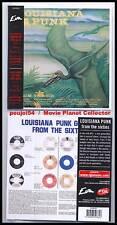 "LOUISIANA PUNK GROUPS ""From 60s"" (CD Vinyl Replica) NEW"