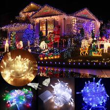 100-1000 LED Fairy String Light Xmas Christmas Wedding Decor w/ Plug Connectable