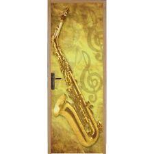 Papier peint porte Saxophone 053