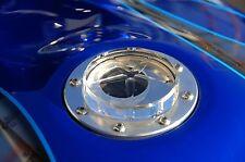 CBR F2 F3 F4 F4I VFR VTR 1000RR 600RR 900RR 929 1100XX CHROME CLEAR FUEL GAS CAP