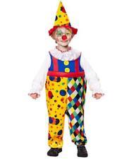 Costume Carnevale Bambino Clown Travestimento Pagliaccio PS 26375