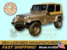 1988 1989 1990 1991 Jeep Wrangler Sahara Edition YJ Decals & Stripes Kit