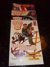 2000 AD Comic - 5 PROG JOB LOT - No's 1290 - 1294 (Dates 0/05/02 : 05/06/02 )