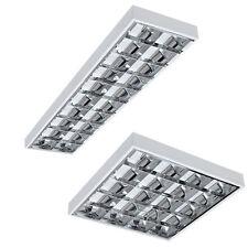 *HIT* SET LED Rasterleuchten Bürolampe Rasterlampe Deckenleuchte inkl. LED T8