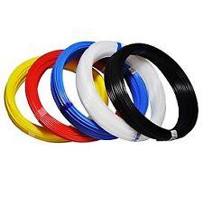 Polyethylen Druckluft Schlauch PE Pneumatikschlauch, 50 m Rolle, mehrer Farben