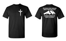 Gun Bible 2nd Amendment Sig Springfield 4x4 offroad t-shirt Graphics Guns Weapon