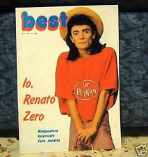 RENATO ZERO - BEST RIVISTA N.2 ANNO 1981 - NUOVA