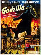 Godzilla 1954 Retro Classic Movie Vintage Giant Wall Print POSTER